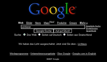 Google in Black